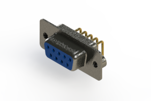 622-M09-260-LT2 - EDAC | Right Angle D-Sub Connector