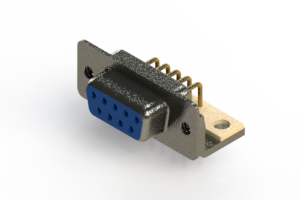 622-M09-260-LT4 - EDAC | Right Angle D-Sub Connector