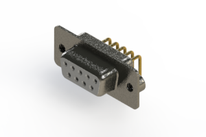622-M09-260-WT2 - EDAC | Right Angle D-Sub Connector