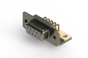 622-M09-260-WT4 - EDAC | Right Angle D-Sub Connector