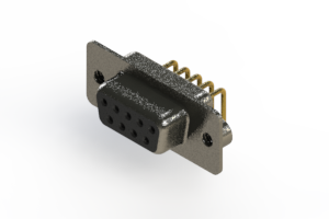622-M09-360-BN2 - EDAC | Right Angle D-Sub Connector