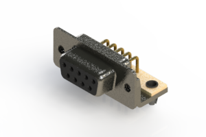 622-M09-360-BN3 - EDAC | Right Angle D-Sub Connector