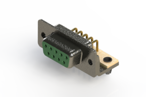 622-M09-360-GN3 - EDAC | Right Angle D-Sub Connector