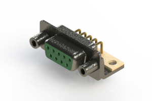 622-M09-360-GN6 - EDAC | Right Angle D-Sub Connector