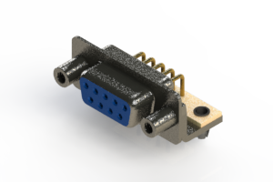 622-M09-360-LT5 - EDAC | Right Angle D-Sub Connector