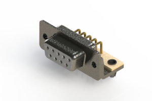 622-M09-360-WN3 - EDAC | Right Angle D-Sub Connector