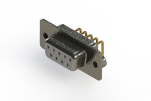 622-M09-360-WT2 - EDAC | Right Angle D-Sub Connector