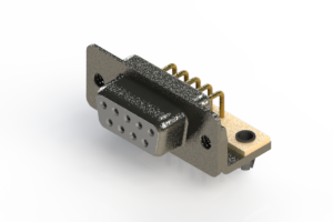 622-M09-360-WT3 - EDAC | Right Angle D-Sub Connector