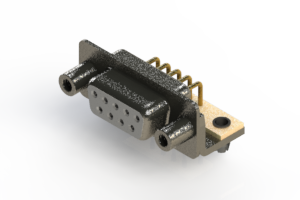622-M09-360-WT5 - EDAC | Right Angle D-Sub Connector
