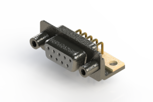 622-M09-360-WT6 - EDAC | Right Angle D-Sub Connector