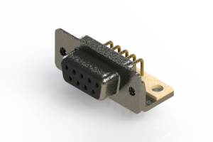 622-M09-660-BN4 - EDAC | Right Angle D-Sub Connector