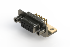 622-M09-660-BN6 - EDAC | Right Angle D-Sub Connector