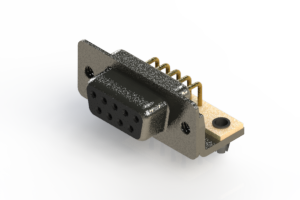 622-M09-660-BT3 - EDAC | Right Angle D-Sub Connector