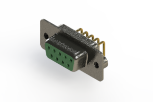 622-M09-660-GN2 - EDAC | Right Angle D-Sub Connector