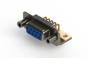 622-M09-660-LN6 - EDAC | Right Angle D-Sub Connector