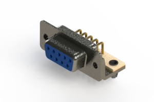 622-M09-660-LT3 - EDAC | Right Angle D-Sub Connector