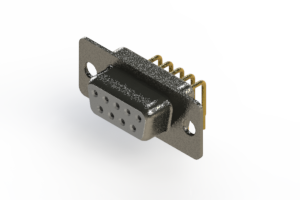 622-M09-660-WN1 - EDAC | Right Angle D-Sub Connector