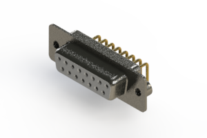 622-M15-260-WT2 - EDAC | Right Angle D-Sub Connector