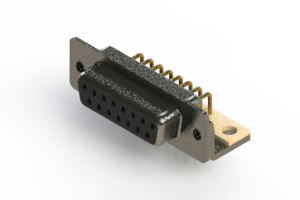 622-M15-360-BT4 - EDAC   Right Angle D-Sub Connector
