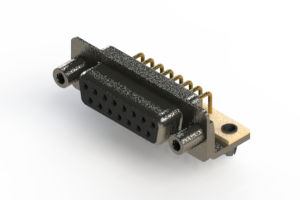 622-M15-360-BT5 - EDAC   Right Angle D-Sub Connector