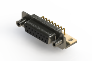 622-M15-360-BT6 - EDAC   Right Angle D-Sub Connector