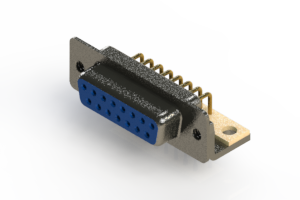 622-M15-360-LN4 - EDAC   Right Angle D-Sub Connector