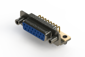 622-M15-360-LN5 - EDAC   Right Angle D-Sub Connector