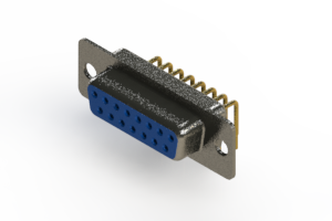 622-M15-360-LT1 - EDAC   Right Angle D-Sub Connector