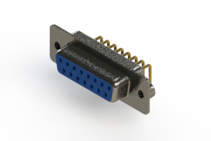 622-M15-360-LT2 - EDAC   Right Angle D-Sub Connector