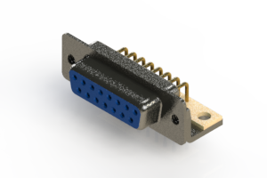 622-M15-360-LT4 - EDAC   Right Angle D-Sub Connector