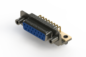 622-M15-360-LT5 - EDAC   Right Angle D-Sub Connector