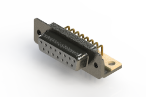 622-M15-360-WN4 - EDAC   Right Angle D-Sub Connector