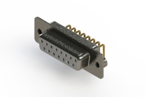 622-M15-360-WT2 - EDAC   Right Angle D-Sub Connector