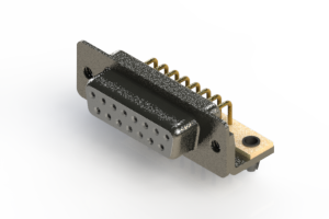 622-M15-360-WT3 - EDAC   Right Angle D-Sub Connector