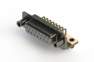 622-M15-360-WT5 - EDAC   Right Angle D-Sub Connector