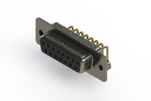 622-M15-660-BN2 - EDAC   Right Angle D-Sub Connector