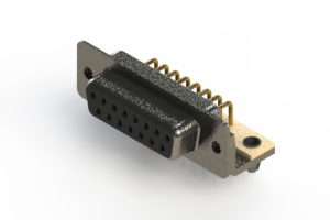 622-M15-660-BN3 - EDAC   Right Angle D-Sub Connector