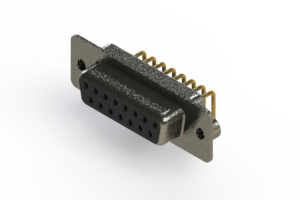 622-M15-660-BT2 - EDAC   Right Angle D-Sub Connector