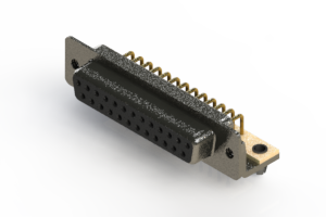 622-M25-260-BN3 - EDAC | Right Angle D-Sub Connector