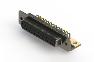622-M25-260-BN4 - EDAC | Right Angle D-Sub Connector