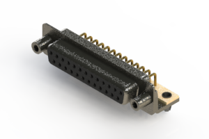 622-M25-260-BN5 - EDAC | Right Angle D-Sub Connector