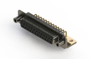 622-M25-260-BN6 - EDAC | Right Angle D-Sub Connector