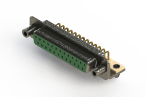 622-M25-260-GN5 - EDAC | Right Angle D-Sub Connector