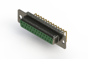 622-M25-260-GT1 - EDAC | Right Angle D-Sub Connector