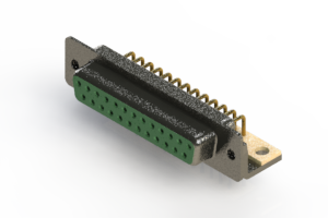 622-M25-260-GT4 - EDAC | Right Angle D-Sub Connector
