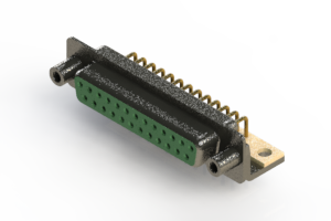 622-M25-260-GT6 - EDAC | Right Angle D-Sub Connector