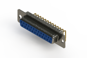 622-M25-260-LN1 - EDAC | Right Angle D-Sub Connector