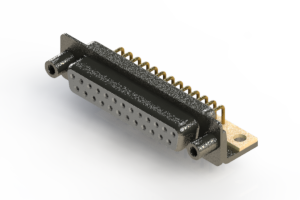 622-M25-260-WN6 - EDAC | Right Angle D-Sub Connector