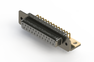 622-M25-260-WT4 - EDAC | Right Angle D-Sub Connector