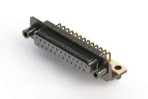 622-M25-260-WT5 - EDAC | Right Angle D-Sub Connector